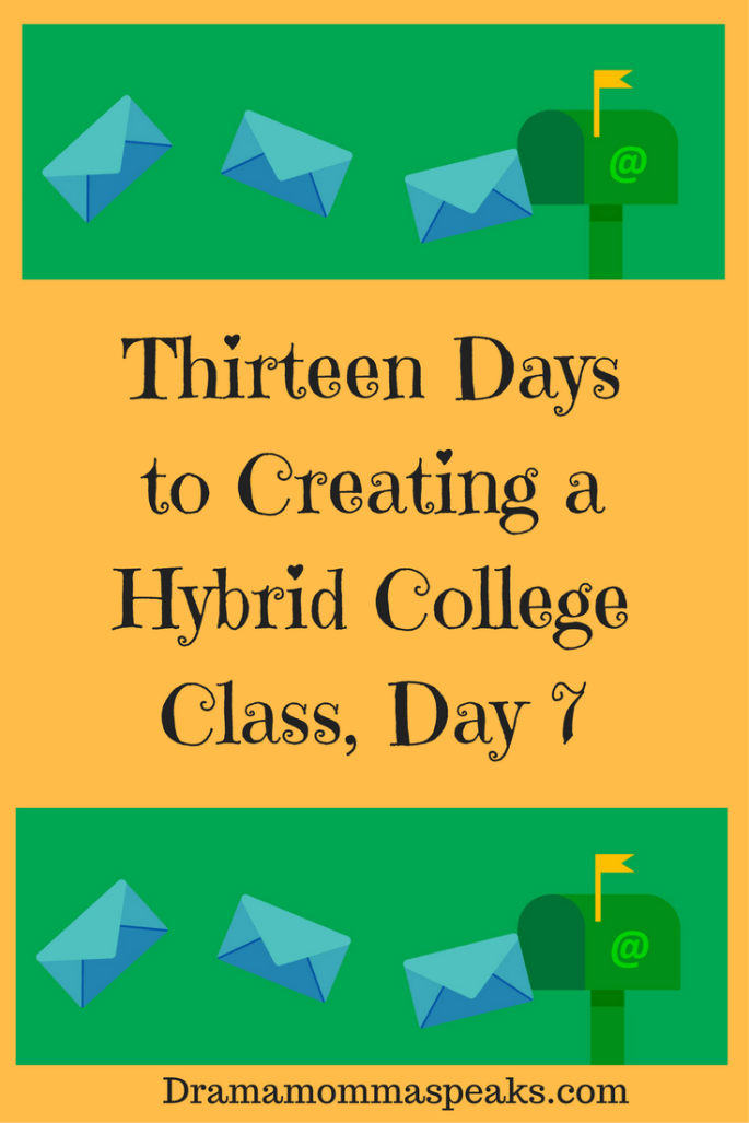 hybrid college class