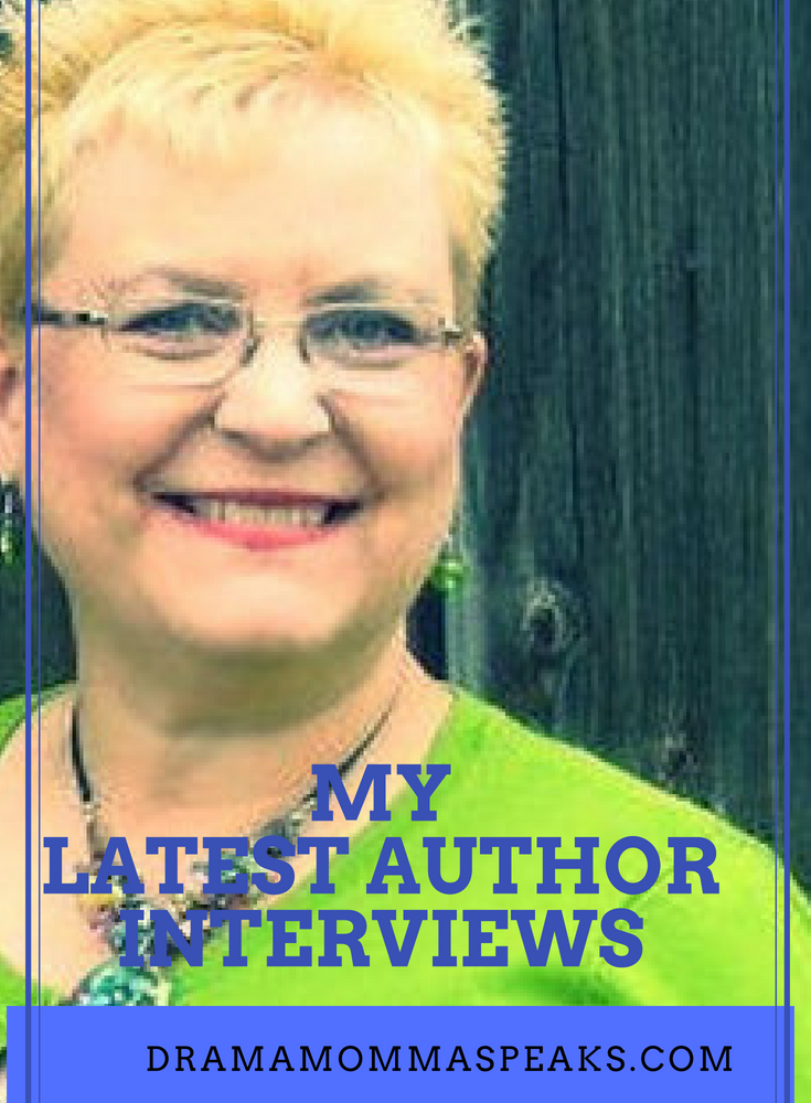 My Latest Author Interviews