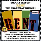 Rent, the Broadway Musical