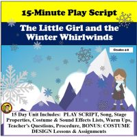 The LIttle Girl and the Winter Whirlwinds