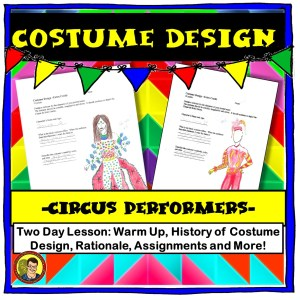 Costume Design with Circus Performers