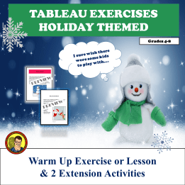TABLEAU HOLIDAY THEMED PREVIEW