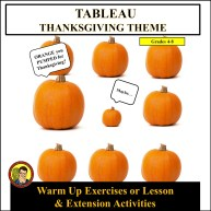 Tableau Thanksgiving Cover