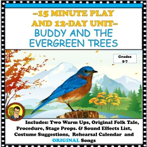 Buddy and the Evergreen Trees