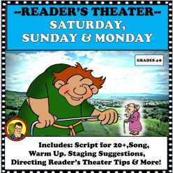 SATURDAY, SUNDAY & MONDAY READERS THEATER COVER
