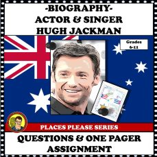 HUGH JACKMAN ONE PAGER COVER