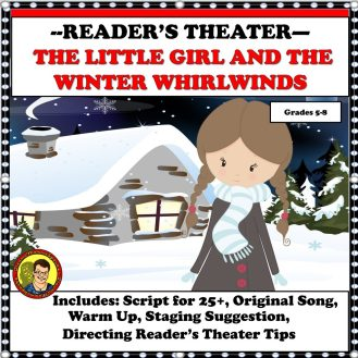 THE LITTLE GIRL READERS THEATER COVER