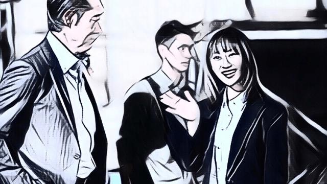ドラマ『ブラックスキャンダル』2話ネタバレ・感想【松井玲奈がカッコイイ!・GMビル再び!】