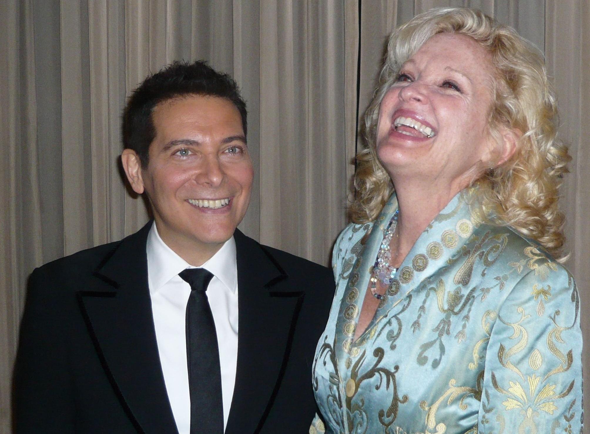 Michael Feinstein and Christine Ebersole Photo by Gacin1