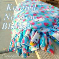 Knotted No~Sew Blanket