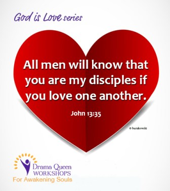 Love one another: A requirement for being followers of Jesus.