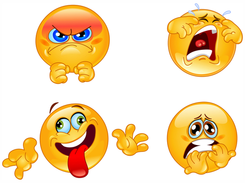 Emotions emoticons