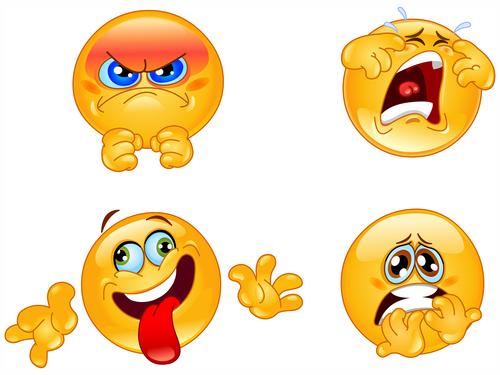 Emotions emoticons