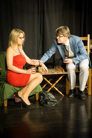 Antoinette und Spielleiter