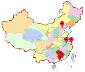 china centres