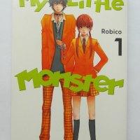 Manga: My Little Monster (Tonari no Kaibutsu-kun) Volume 1 Summary + Review