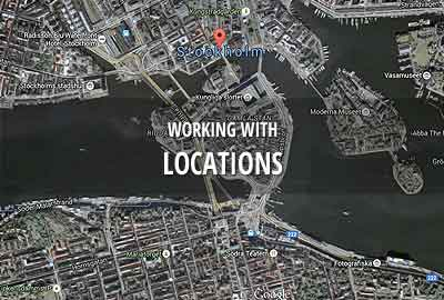 Working with film & TV locations