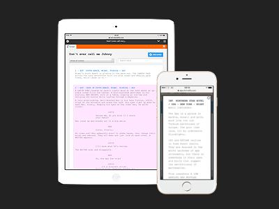 Best screenplay app on the market