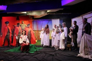 Scene from nadiya Marchuk's play