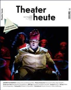 Theater Heute, August 2014