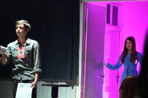A Scene from Burgomister Play