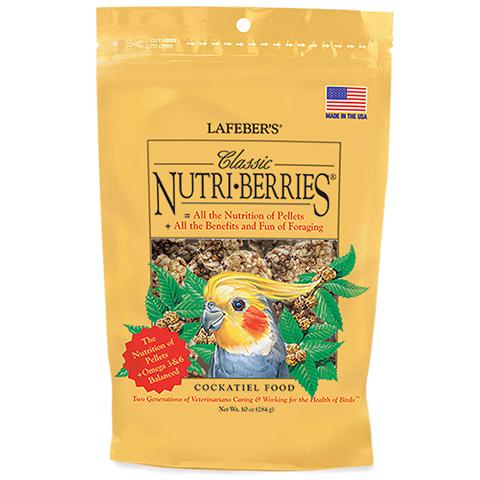 Lafeber Cockatiel Classic Nutriberries