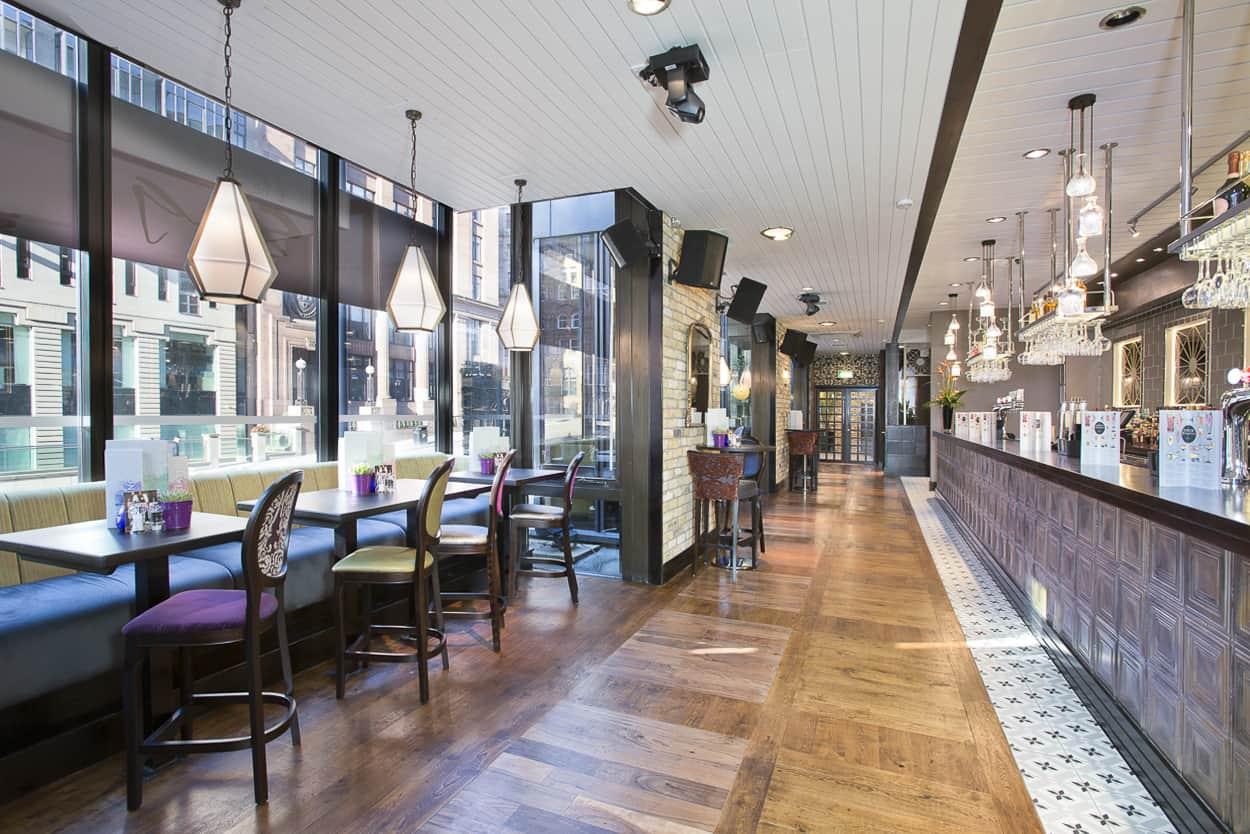 living room outlet divider new slug & lettuce open east and west | dram scotland