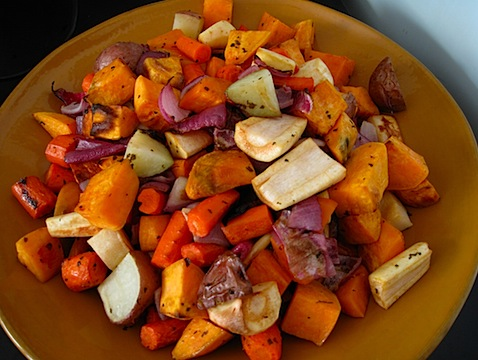 Gorgeous root veggies - perfect for seasonal eating for winter. Lovely picture from eatingbirdfood.com