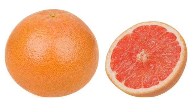 Grapefruit for weight loss and blood sugar and for deliciousness. By Evan-Amos - Own work, Public Domain, https://commons.wikimedia.org/w/index.php?curid=41054604