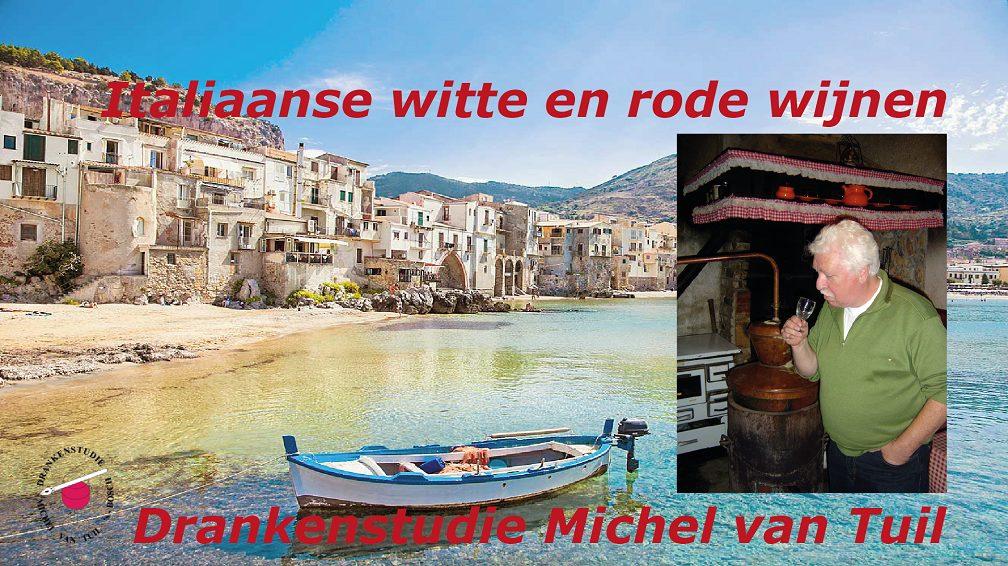 Drankenstudie Italiaanse witte en rode wijnen