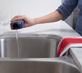 how to unclog your kitchen sink in 3