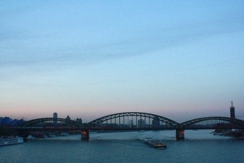 Rhein in Köln // Rhine in Cologne
