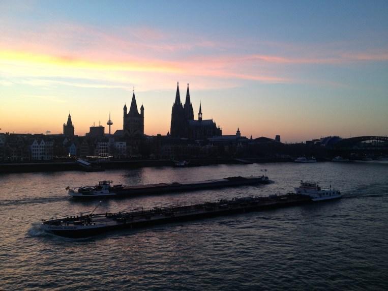 Rhein, Köln/Cologne