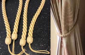 curtain tiebacks