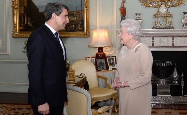 Росен Плевнелиев на гости на кралицата