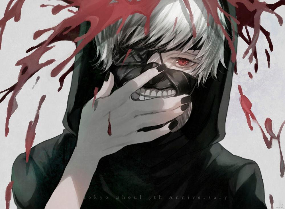 Kaneki Genderbend Black Tokyo Ghoul Reaper