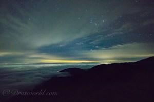 【タイムラプス】APS-C機・ISO6400で撮影した星景写真をノイズレタッチしてみた