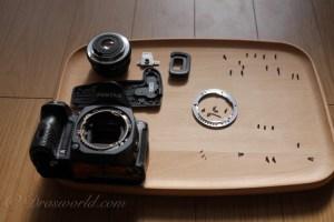 防塵防滴仕様のカメラを分解して分かった誰も教えてくれないこと