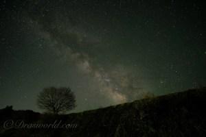 天の川撮影はサムヤン12mm f/2とFUJIFILM のミラーレス一眼でバッチリいける