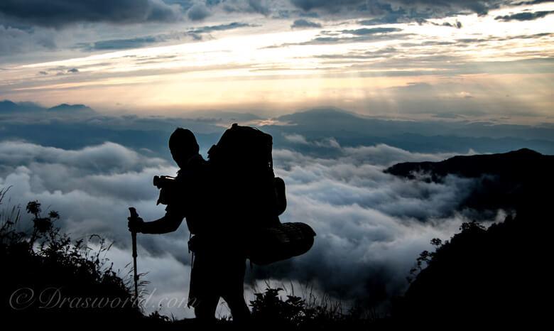 登山は基礎体力が大事