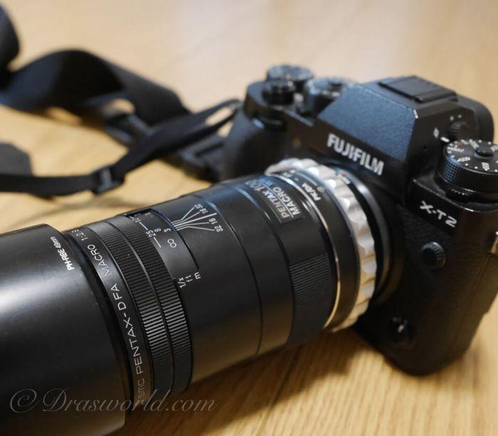 X-T2とD FA100mm Macro F2.8