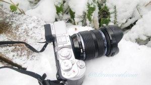 雪山で防塵防滴のミラーレス一眼カメラLUMIX GX8を使い倒す