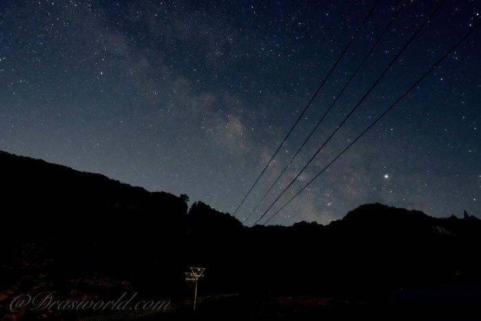XF16mm F1.4で撮影した星景写真