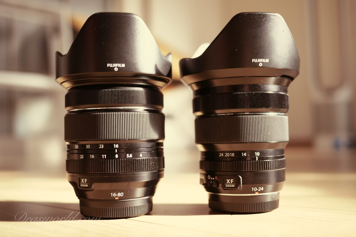 XF16-80mm VS XF10-24mm(16mmと24mmを比較)