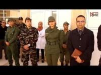 تعزيز المستشفى الإقليمي لطاطا بأطر طبية و تمريضية و مساعدين إجتماعيين عسكريين.
