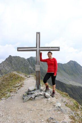Gipfelfoto am Stubaier Höhenweg