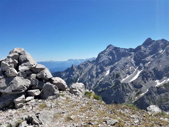 Am Gipfel der Riffelspitze