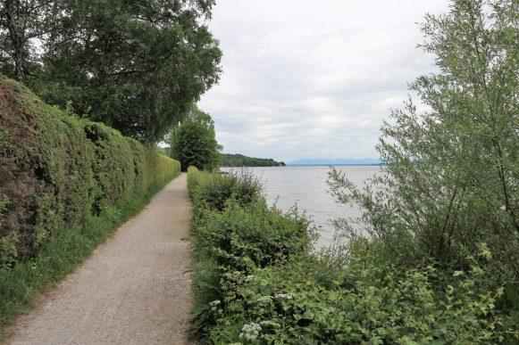 Weg am Starnberger See