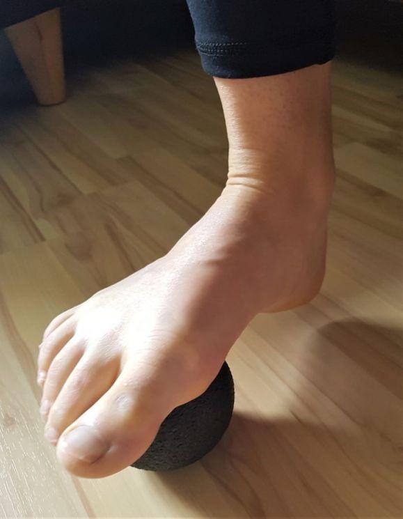 Mobilisierung der Fußgelenke 1