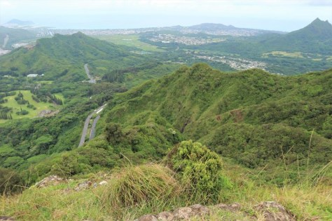 Der Blick zum Highway Richtung Kailua